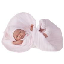 Кукла-младенец Antonio Juan  Карла в розовом одеяле, 26 см 4067P