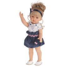 Кукла Antonio Juan Белла в синем платье, 45см 2809B
