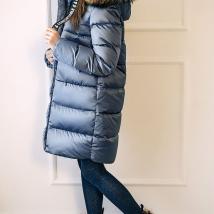Пальто для девочек GnK 3-825