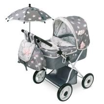Коляска с рюкзаком и зонтиком серии Скай, 60 см., DeCuevas, 85024
