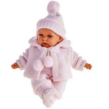 Кукла Antonio Juan Азалина в розовом, озвуч.,27см 1221Р
