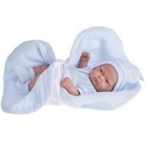 Кукла-младенец Antonio Juan Карлос в голубом одеяле, 26 см 4067В