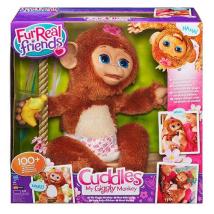 Интерактивная игрушка Смешливая обезьянка  A1650
