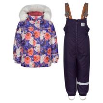 Комплект для девочек Kisu W19-20201/6041 зима