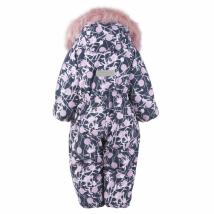 Комбинезон для девочек BERRY K20407/06100 (розовый; темно-синий)