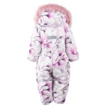 Комбинезон для девочек BERRY K20407/01220 (розовый; темно-фиолетовый)